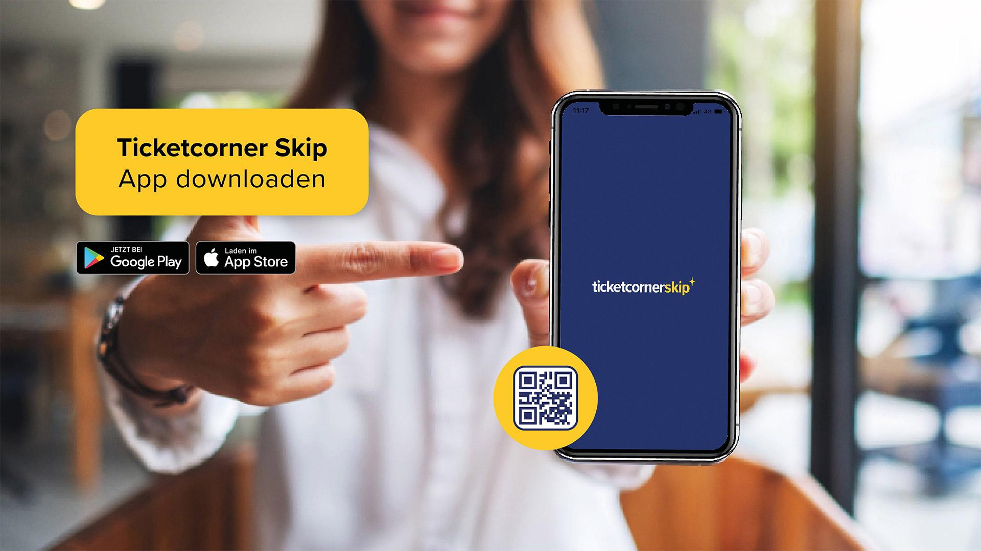 Ticketcorner Skip App