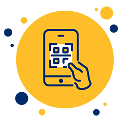 QR-Code aufs Handy
