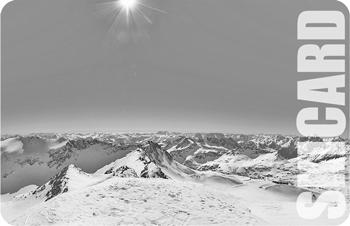 Skicard from the skiresort (Chip 01)