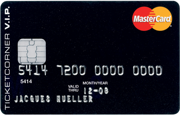 Ticketcorner VIP-Card